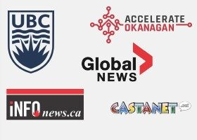 media coverage from global news, castnet, UBC and more